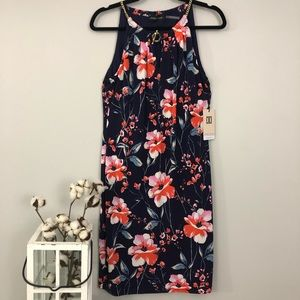 NWT Ivanka Trump Floral Sleeveless Dress - Medium
